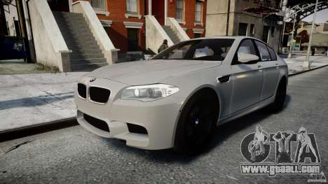BMW M5 F10 2012 for GTA 4