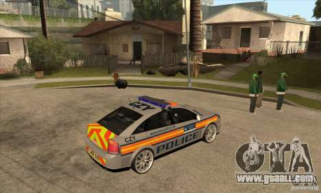 Opel Vectra 2009 Metropolitan Police for GTA San Andreas right view