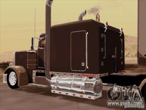Peterbilt 359 Custom for GTA San Andreas back view