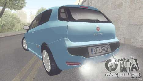 Fiat Punto for GTA San Andreas left view
