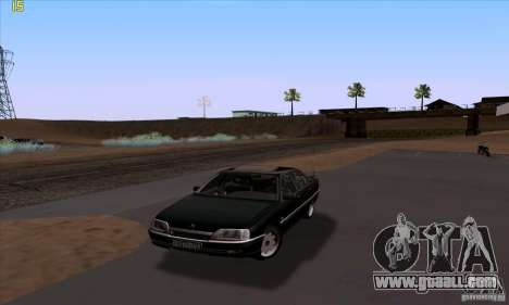 Opel Omega A Diamant Stock for GTA San Andreas upper view