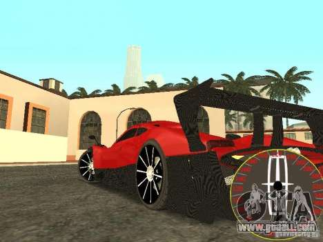 New speedometer Lincoln for GTA San Andreas second screenshot