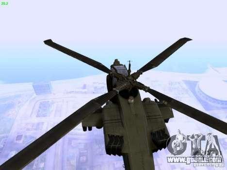 HD Hunter for GTA San Andreas inner view
