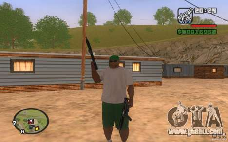 Double weapons for GTA San Andreas