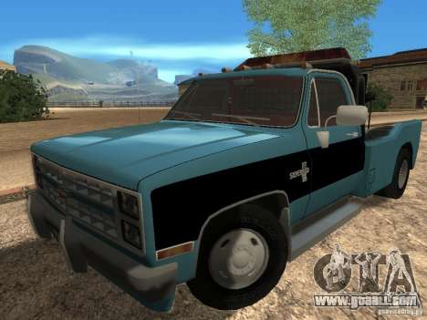 Chevrolet Towtruck for GTA San Andreas left view