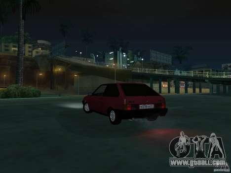 VAZ 2108 Drain for GTA San Andreas inner view