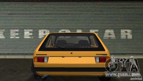 Volkswagen Golf Mk1 GTI for GTA Vice City right view