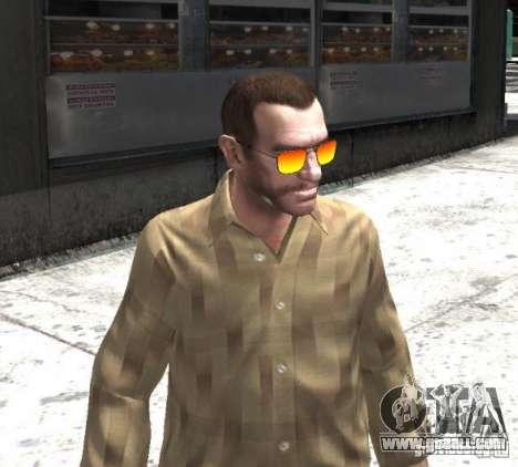 Sunnyboy Sunglasses for GTA 4 third screenshot