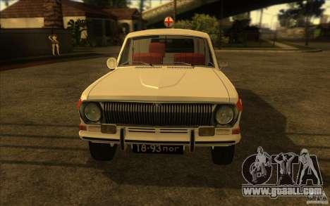 GAZ-24 Volga 03 ambulance for GTA San Andreas right view