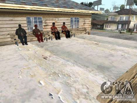 The New Grove Street for GTA San Andreas
