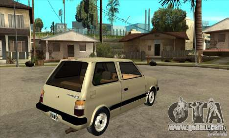 Daihatsu Cuore 1981 for GTA San Andreas right view