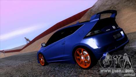 Honda CR-Z Mugen 2011 V1.0 for GTA San Andreas left view
