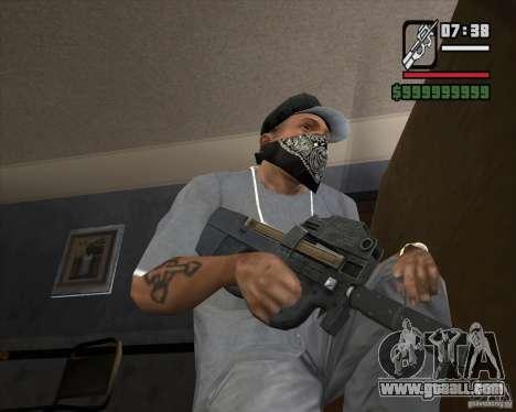 P90 from GTA IV The Ballad of Gay Tony for GTA San Andreas