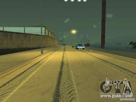 Snow v 2.0 for GTA San Andreas ninth screenshot