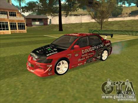Mitsubishi Evo 9 Touge Union for GTA San Andreas