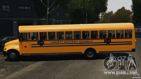 School Bus v1.5 for GTA 4 left view