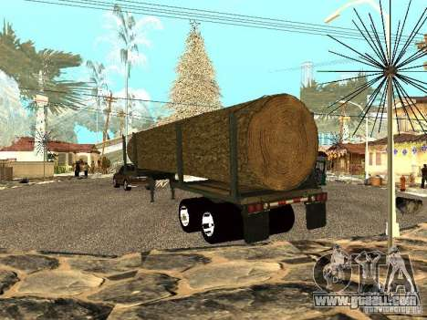 Felled tree for GTA San Andreas back left view