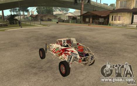 CORR Super Buggy 1 (Schwalbe) for GTA San Andreas back left view