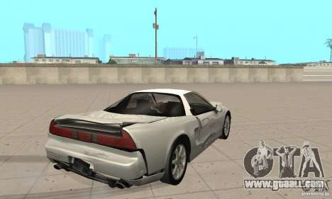 Acura NSX 1991 for GTA San Andreas side view