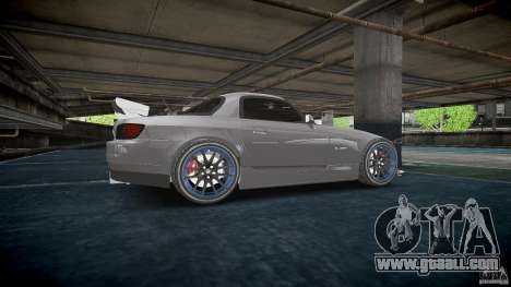 Honda S2000 Tuning 2002 3 Skin calm for GTA 4 wheels