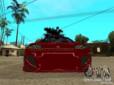 Honda CRX ED9 for GTA San Andreas right view