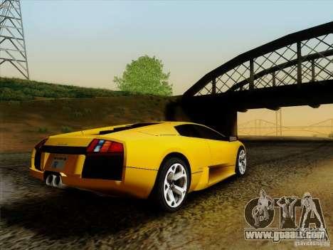 Lamborghini Murcielago LP640-4 for GTA San Andreas