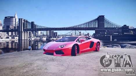 Lamborghini Aventador LP700-4 v1.0 for GTA 4 bottom view