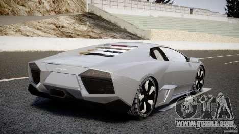 Lamborghini Reventon v2 for GTA 4 back left view