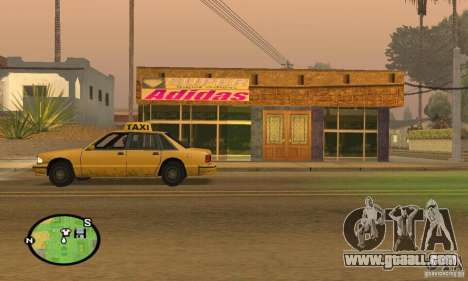 Shop ADIDAS for GTA San Andreas