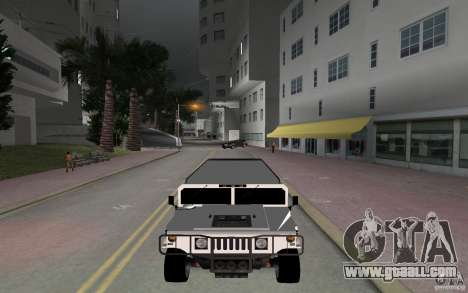 HUMMER H1 limousine for GTA Vice City right view