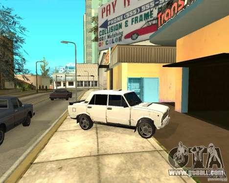 Kopeyka (corrected) for GTA San Andreas inner view