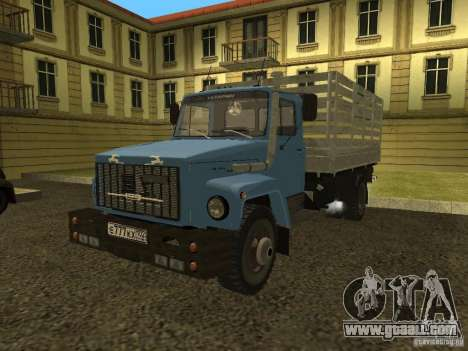 GAZ 3309 for GTA San Andreas