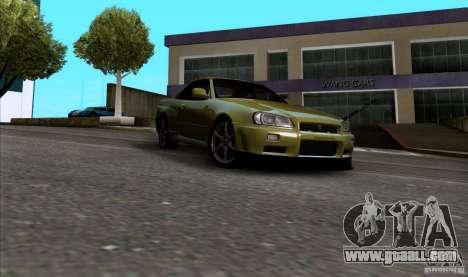 ENBseries by HunterBoobs v1.1 for GTA San Andreas