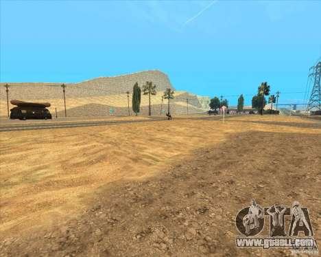 Desert HQ for GTA San Andreas eighth screenshot