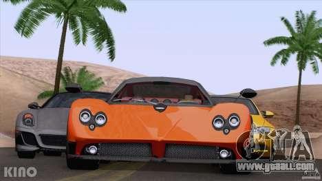 Pagani Zonda F for GTA San Andreas left view