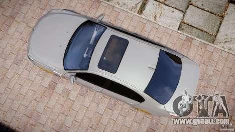 BMW M5 E60 2009 for GTA 4 right view
