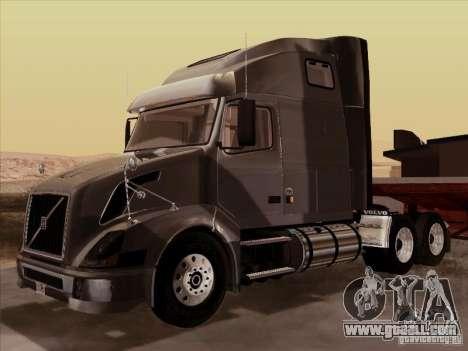 Volvo VNL 670 for GTA San Andreas