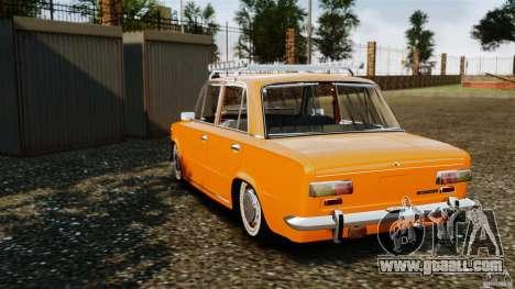 Vaz-2101 Resto for GTA 4 back left view
