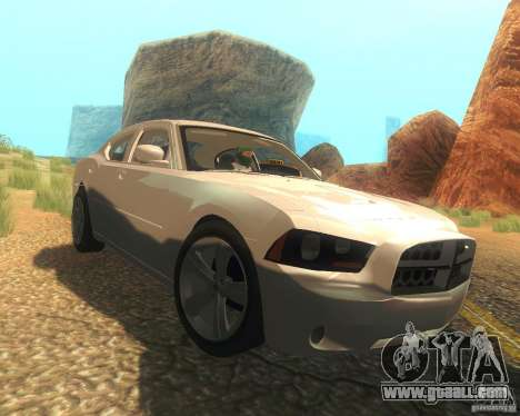 Dodge Charger 2011 for GTA San Andreas side view