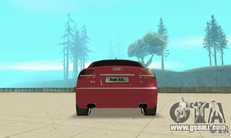 Audi A8L 4.2 FSI for GTA San Andreas engine