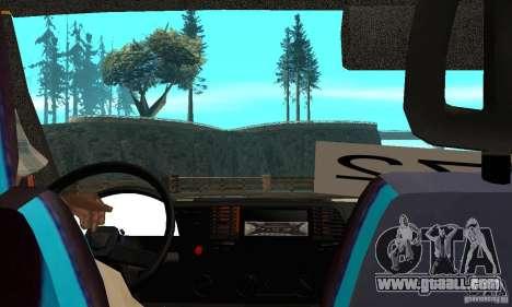 Gazelle kulnev obezbašennaâ for GTA San Andreas right view