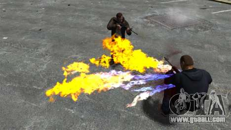 Fire bullets for GTA 4 forth screenshot