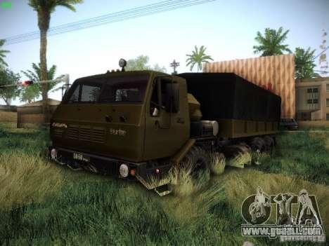 KrAZ 6316 for GTA San Andreas