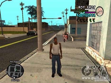 HUD by Hot Shot v.2.2 for SAMP for GTA San Andreas second screenshot