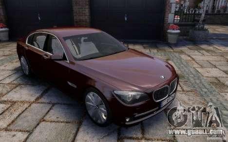 BMW 760Li 2011 for GTA 4 side view
