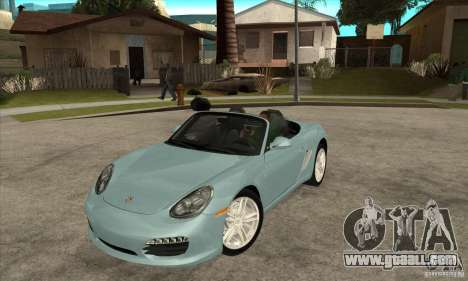 Porsche Boxster S 2010 for GTA San Andreas