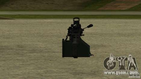 M240 for GTA San Andreas forth screenshot