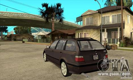 BMW 318i Touring for GTA San Andreas right view