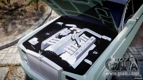 Rolls Royce Phantom Sapphire Limousine Disco for GTA 4 upper view