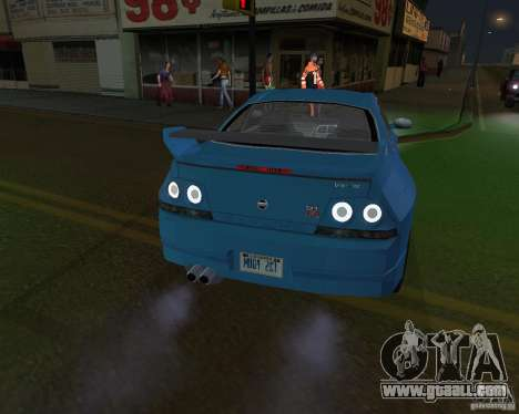 Nissan Skyline GT-R R-33 for GTA San Andreas back left view
